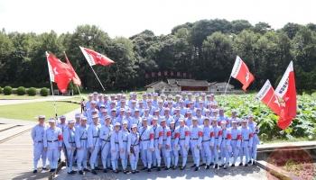 深圳市公安局龙岗分局聘员大队在闽开启第一期铸魂之训