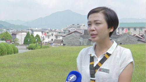 中心副主任魏巧玲接受福建省电视台采访