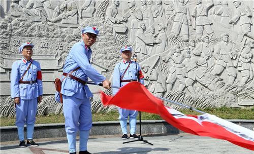 旗帜凝聚信仰