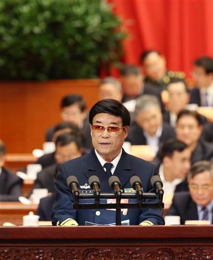 2017年3月11日,全国政协十二届五次会议在北京人民大会堂举行第四次全体会议。这是马国超委员作《从严治党 民心所向》的发言,期间提到奶奶绝食殉国,几度哽咽。