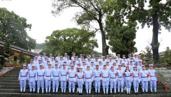 深圳市公安局公交分局第三期一行赴龙岩重走红军路开展党性万博全站培训