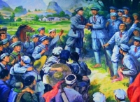 湘东独立师胜利会师红七军