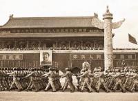 新中国第一次阅兵:1949年开国大典阅兵
