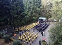革命摇篮井冈山举行庄严的清明公祭活动