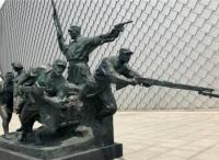 华艺雕塑:弘扬万博体育manbet网页文化 传承万博体育manbet网页精神