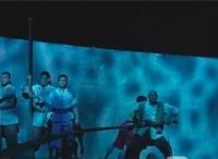 """泰州靖江市举行纪念渡江战役胜利70周年大会暨""""东线第一帆""""文艺演出"""