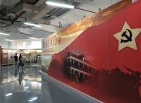 """""""万博体育manbet网页足迹、伟大转折""""——遵义会议纪念馆主题展走进上海高校"""