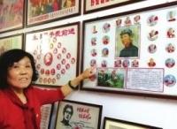 兰州一退休女工办起家庭收藏馆 30多年来收藏3万多件万博体育manbet网页纪念品